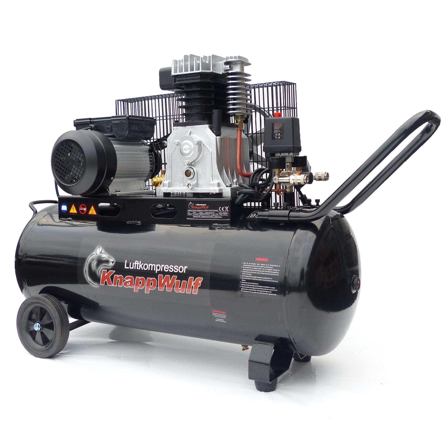 druckluft kompressor kw3100 mit 100l kessel kompressoren luftkompressoren f r ihre. Black Bedroom Furniture Sets. Home Design Ideas